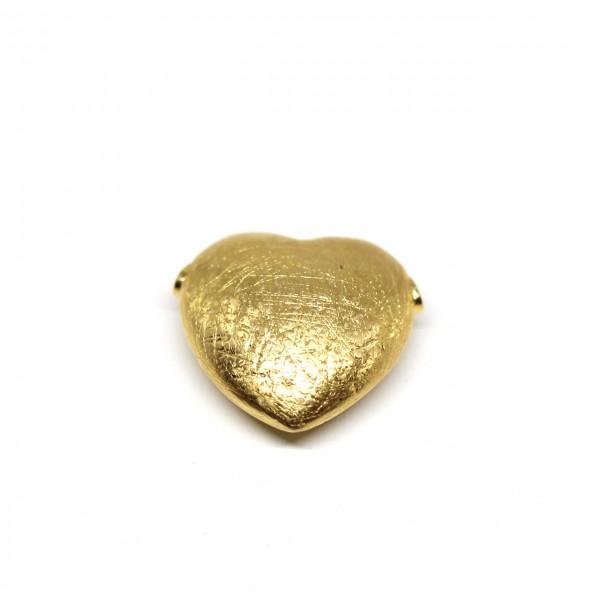 Wechselschließe Herz in 333 Gelbgold