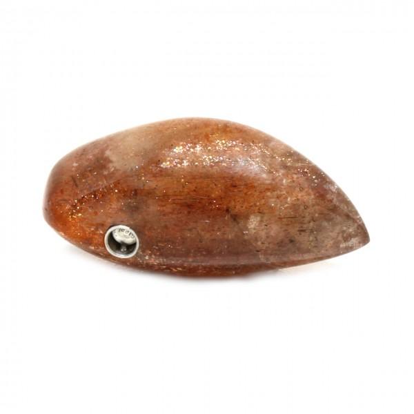 Wechselschließe Silber mit Sonnenstein