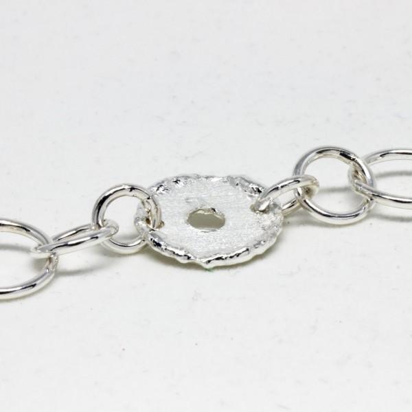 Armband Silber mit Scheiben