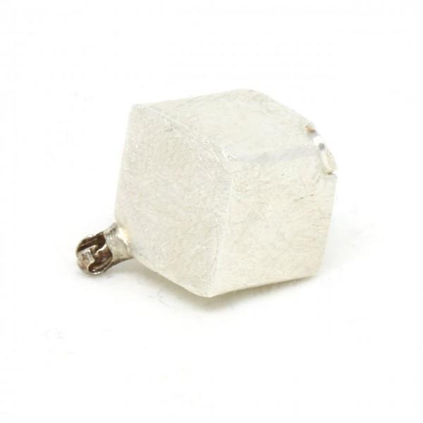 Einseitiger Adapter Silberwürfel