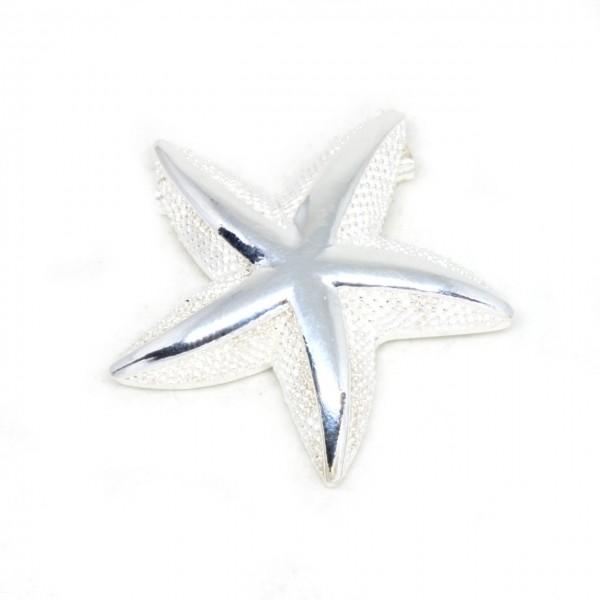 Wechselschließe Seestern Silber