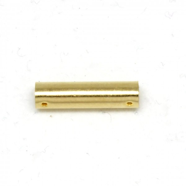 Wechselverschluß Stab vergoldet 15 mm