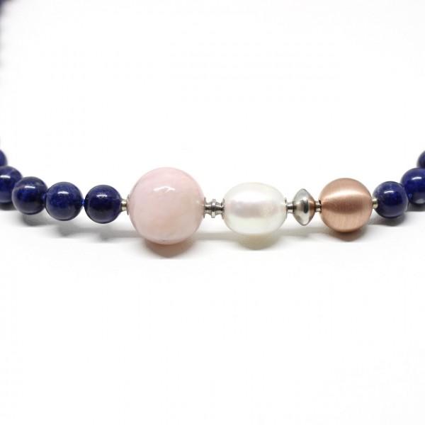 Wechselschließe ovale Perle