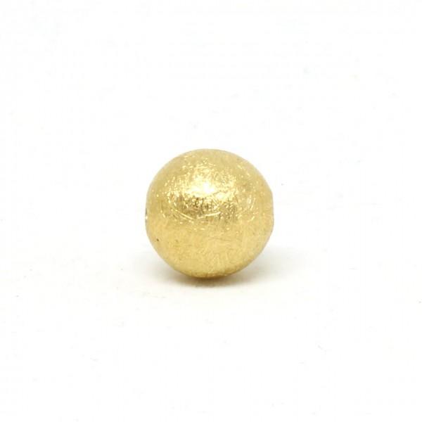 Wechselschließe Kugel 14 mm goldplattiert