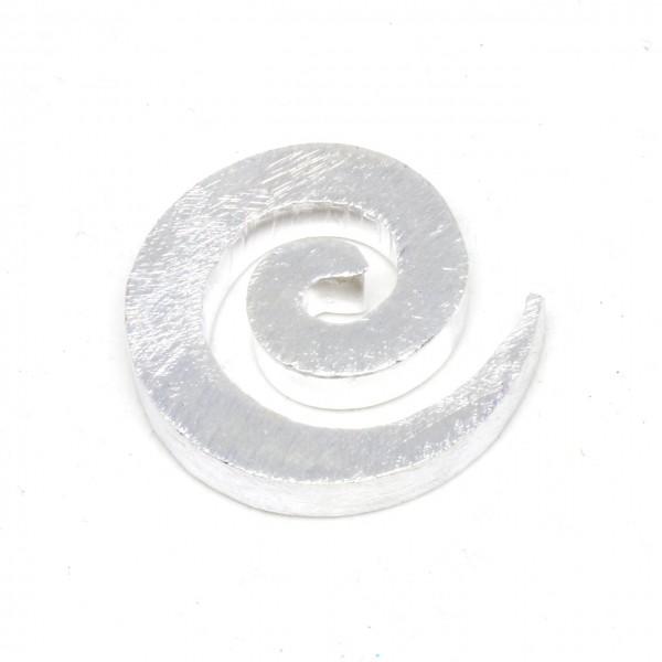 Wechselschließe Schnecke in Silber