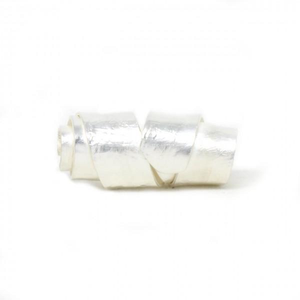 Wechselschließe Wickelwalze in Silber