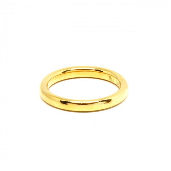 Ring in 333 Gelbgold poliert breit