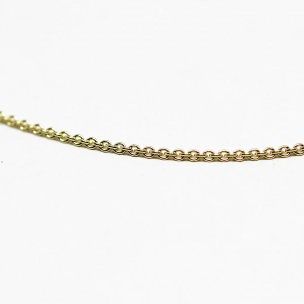 Collierkette Anker 333 Gelbgold 38 cm
