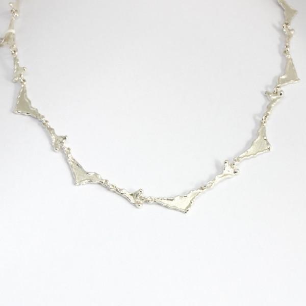 Collier Silber Dreiecke