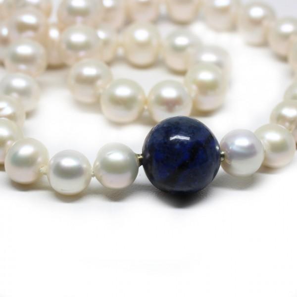 Start-Set Wechselkette Perle mit Sodalith 16 mm