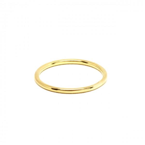 Ring in 333 Gelbgold poliert