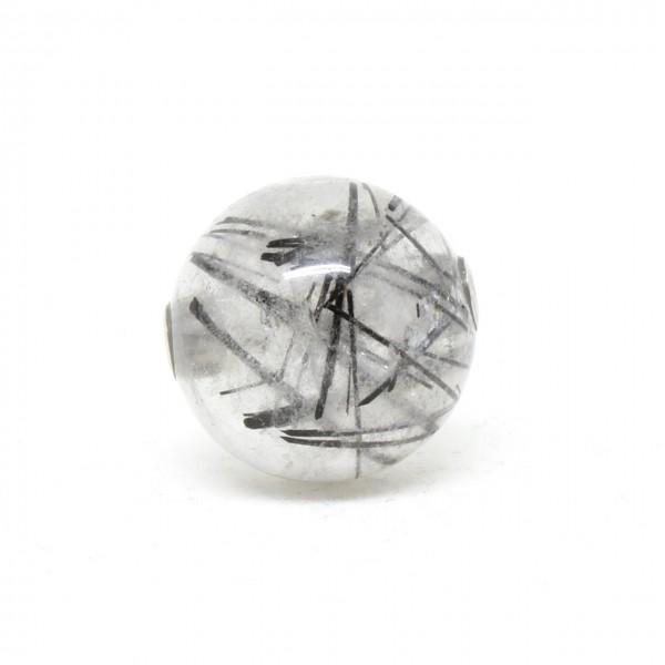 Wechselschließe Turmalinquarzkugel 16 mm