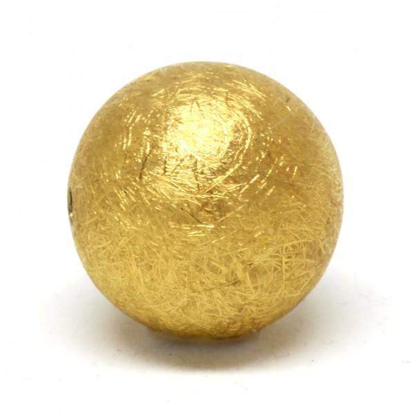 Wechselschließe Kugel Goldplattiert groß