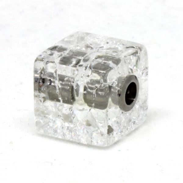 Wechselschließe Bergkristall Würfel