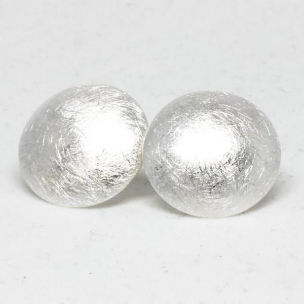 Ohrstecker Silber Eismatt