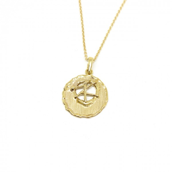 Collierkette Anker 333 Gelbgold 42 cm