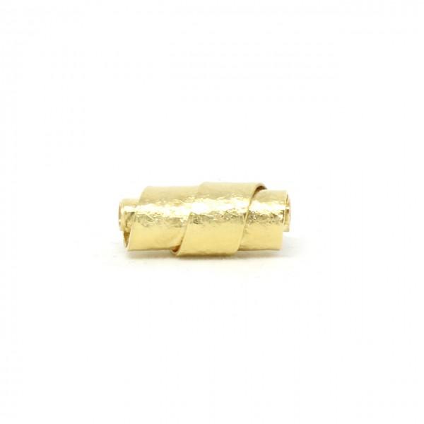 Wechselschließe Wickelwalze 585 Gelbgold