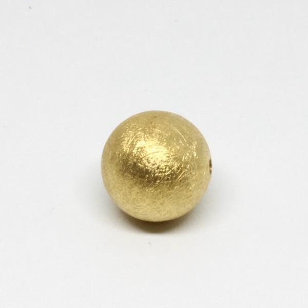 Wechselschließe Kugel 18 mm goldplattiert