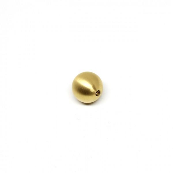 Wechselschließe Edelstahlkugel 16 mm vergoldet