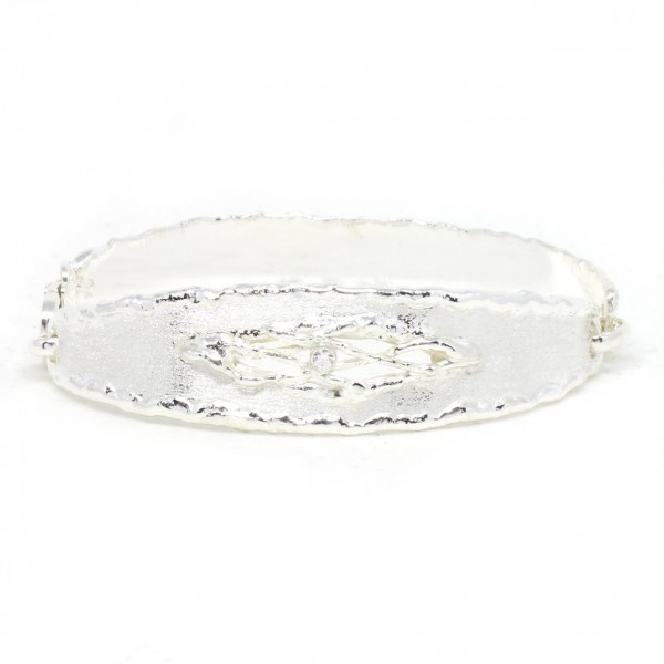 Armband Silber Spange