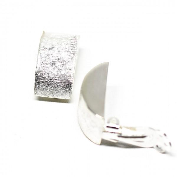 Clip Silber Eismatt