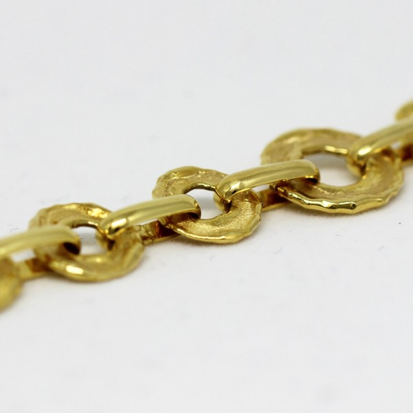 Armband in Gold handgefertigt