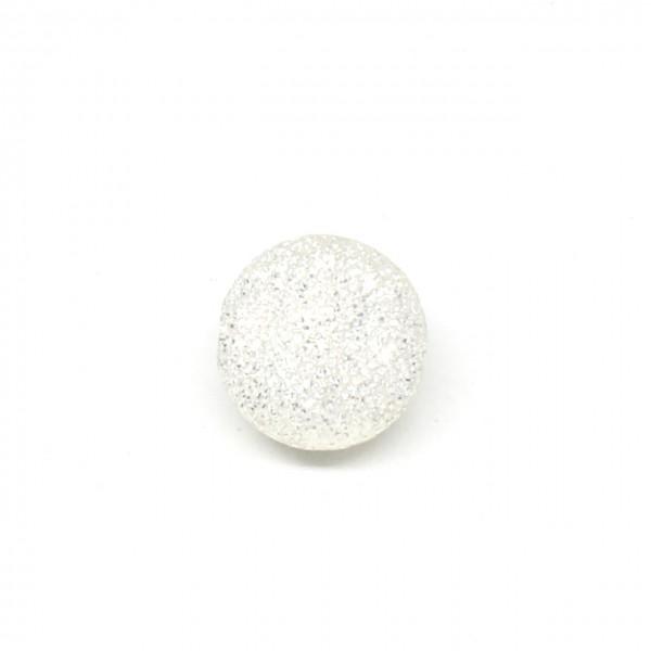 Wechselschließe Silberkugel 12 mm Glimmer