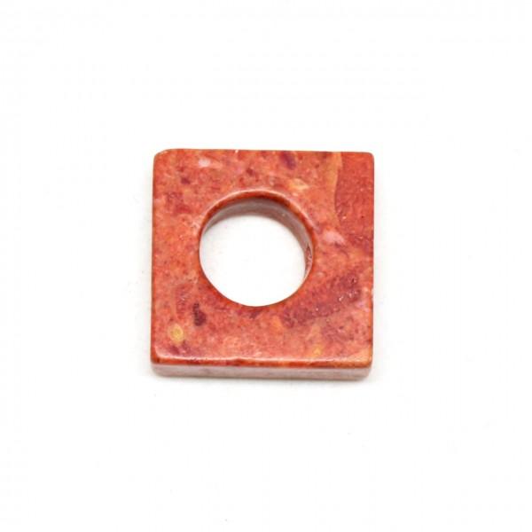 Wechselschließe Schaumkoralle Quadrat