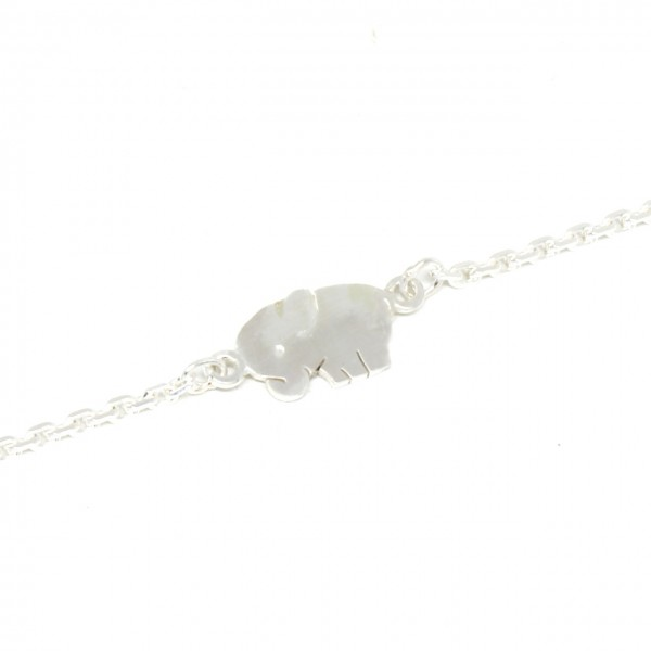 Armband Silber Elefant