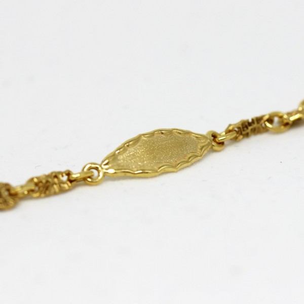Armband in 333/- Gold Identband