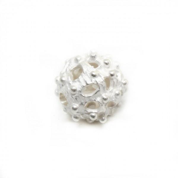 Wechselschließe Silberkugel 15,5 mm matt