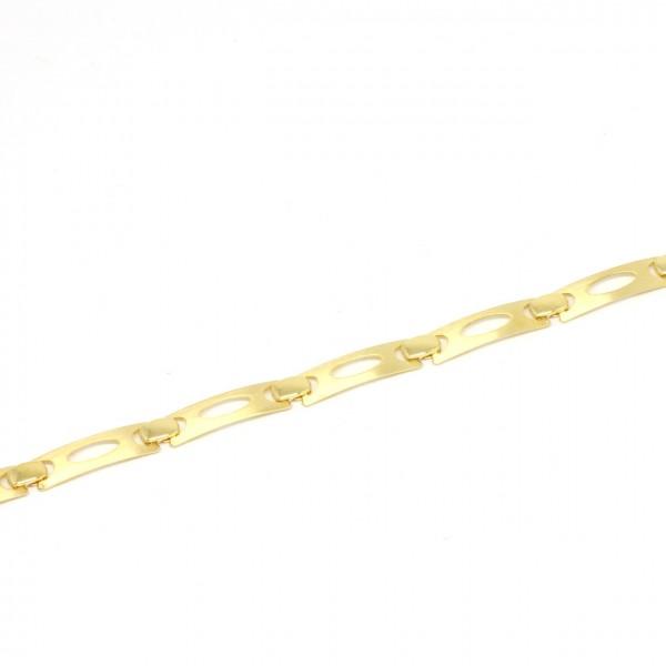 Armband 333 Gelbgold mattiert
